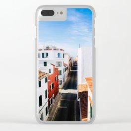 Maó, Menorca. Clear iPhone Case
