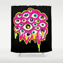 Ps-eye-chedelic Shower Curtain