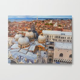 Venezia, Italy ( view from Campanile San Marco ) Metal Print