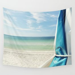 Beach Umbrella Wall Tapestry
