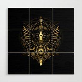 Zelda Sword Wood Wall Art