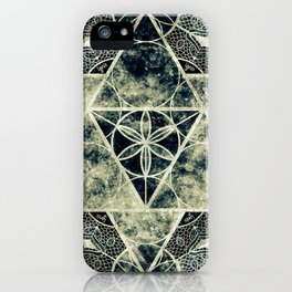 Sacred Geometry for your daily life -  Platonic Solids - IGNIS iPhone Case