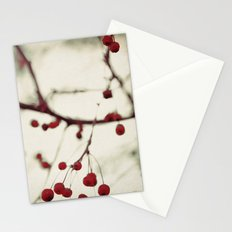dark berries Stationery Cards