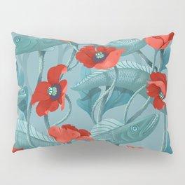Barracuda - Aqua version Pillow Sham