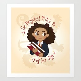 The Brightest Witch Art Print