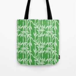 Bamboo Rainfall in Sullivan Green/White Tote Bag
