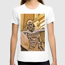 Shakespeare Hits the Books T-shirt