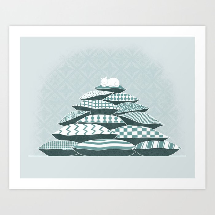 The Pillows That I've Dreamt On Art Print