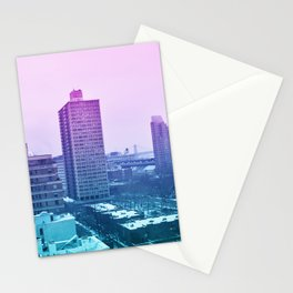 Spring in winter Stationery Cards