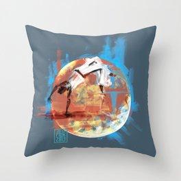 Capoeira 544 Throw Pillow