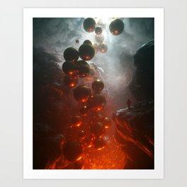 Crevasse Art Print