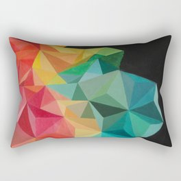 Pixelate Rectangular Pillow