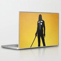kill bill Laptop & iPad Skins featuring Kill Bill by Nick Kemp