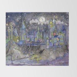 Hogwarts Castle Throw Blanket