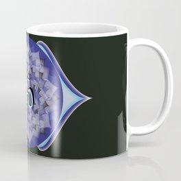 Third Eye Chakra on black Coffee Mug