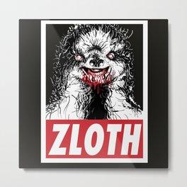 Zloth Metal Print