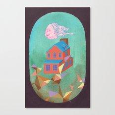 Lloyd's House Canvas Print