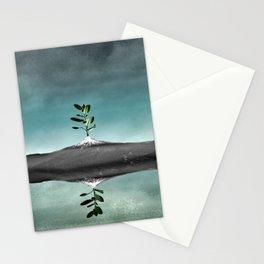 Dramatic scenario Stationery Cards