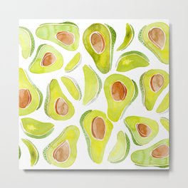 Avoca-do! Metal Print