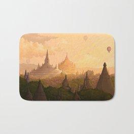 Bagan Myanmar Bath Mat