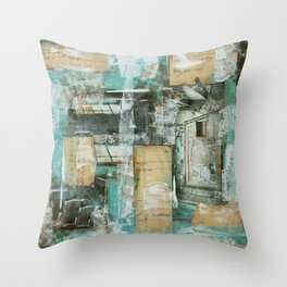 Abstract 01 Throw Pillow