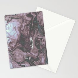 How the Ink Moves III Stationery Cards