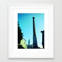 history Framed Art Prints featuring History. by willthinks