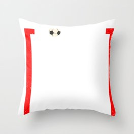 Soccer Mom design Soccer Gift Throw Pillow