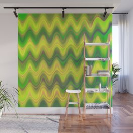 Agate Wave Green - Mineral Series 002 Wall Mural