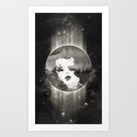 planet Art Prints featuring Planet by Ozghoul