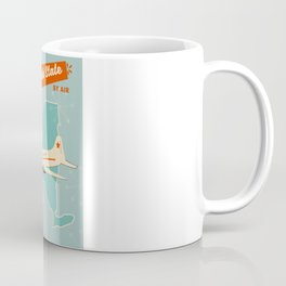 New York State vintage travel poster Coffee Mug
