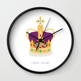 London, England | The Crown Jewels Wall Clock