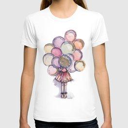 Float Away // Fashion Illustration T-shirt