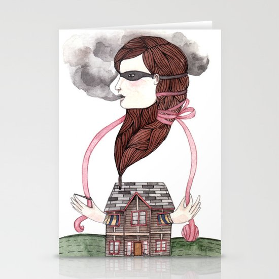 Little Smokes Stationery Cards