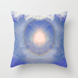 Eye of Light Throw Pillow