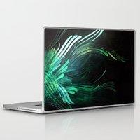 malachite Laptop & iPad Skins featuring Malachite by Lea Gray Design