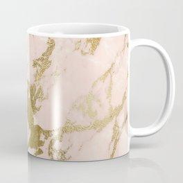 Champagne Blush Marble Coffee Mug