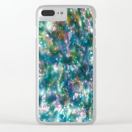 Rainbow Suds Clear iPhone Case