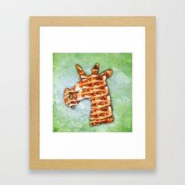 Unicorn Lasagna Framed Art Print