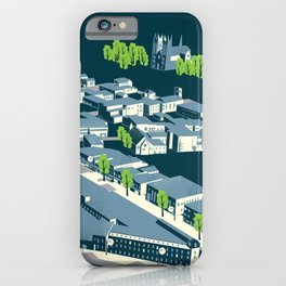 Aerial view of Guelph iPhone Case