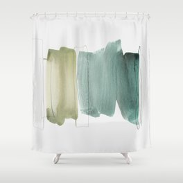 minimalism 5 Shower Curtain