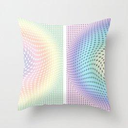 """""""Circles II"""" Throw Pillow"""