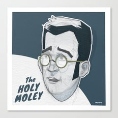The Holymoley Canvas Print