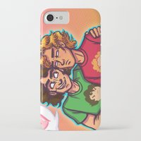 grantaire iPhone & iPod Cases featuring Cheer Up, Grump by juanjoltaire