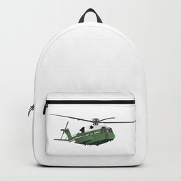 Green American Helicopter Backpack