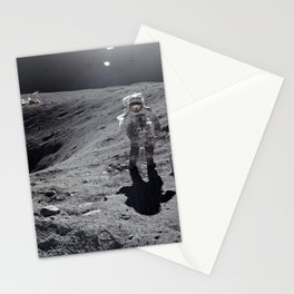 Apollo 16 - Plum Crater Stationery Cards