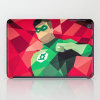 green lantern iPad Cases featuring DC Comics Green Lantern by Eric Dufresne