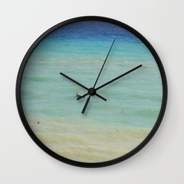 boats against the current (revisited) Wall Clock