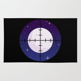 Aim for the Moon Rug