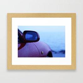Rain Slick Framed Art Print